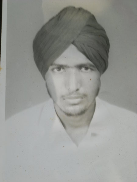 Photo of Balaur Singh, victim of extrajudicial execution on August 01, 1989Punjab Police