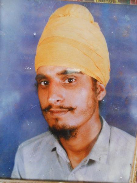 Photo of Darshan Singh, victim of extrajudicial execution, date unknownPunjab Police