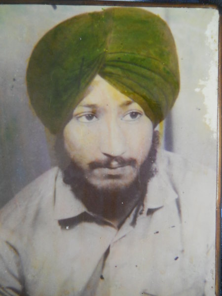 Photo of Balwinder Singh, victim of extrajudicial execution between March 10, 1992 and March 11,  1992, in Rampura Phul,  by Punjab Police; Central Reserve Police Force, in Rampura Phul, by Punjab Police