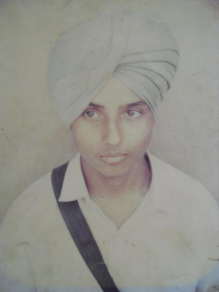 Photo of Davinder Singh, victim of extrajudicial execution on February 05, 1993Punjab Police