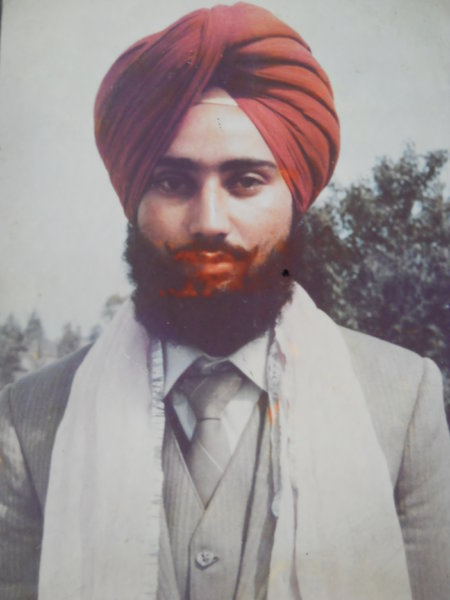 Photo of Lember Singh, victim of extrajudicial execution between February 28, 1993 and March 1,  1993, in Bhadaur, by Punjab Police
