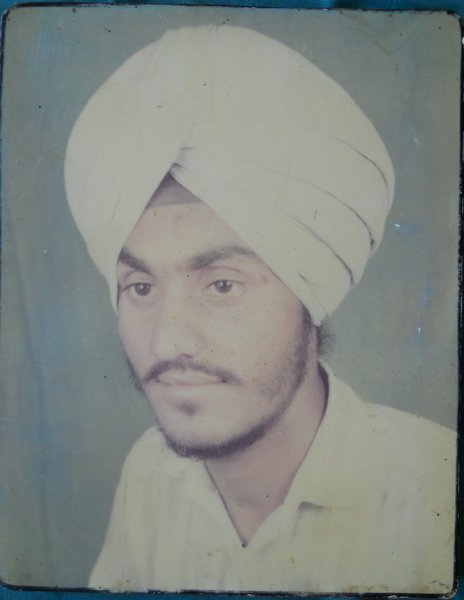 Photo of Sukhpal Singh,  disappeared on July 18, 1991, in Bhagha Purana,  by Punjab Police
