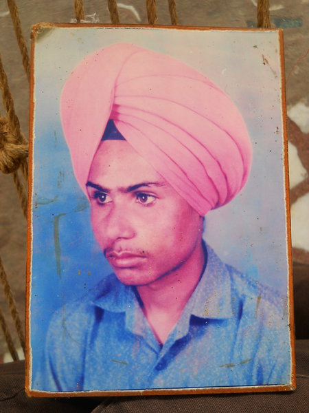 Photo of Harwinder Singh,  disappeared on April 19, 1992, in Bathinda, Maur,  by Punjab Police