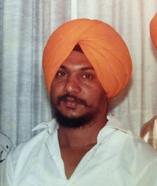 Photo of Umrao Singh, victim of extrajudicial execution between April 14, 1993 and August 30,  1993, in Garhshankar, Hoshiarpur, Chandigarh, by Punjab Police