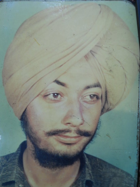 Photo of Wassan Singh, victim of extrajudicial execution on July 16, 1990, in Kapurthala,  by Punjab Police; Central Reserve Police Force, in Kapurthala, by Punjab Police