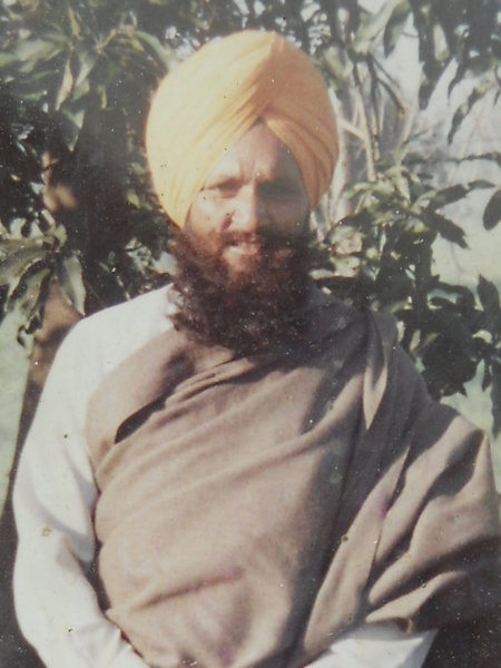 Photo of Dilbag Singh, victim of extrajudicial execution on May 19, 1993, in Ghuman, by Punjab Police