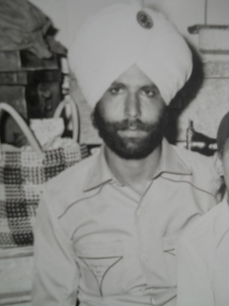 Photo of Gurmej Singh, victim of extrajudicial execution on October 07, 1987, in Beas, by Punjab Police