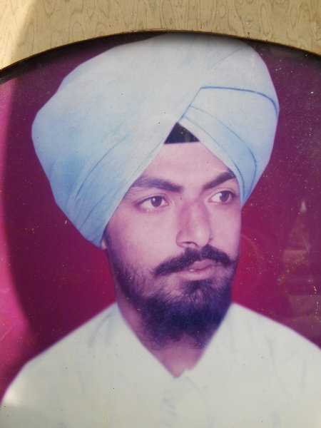 Photo of Balwinder Singh,  disappeared between January 1, 1991 and December 31,  1992, in Sultanwind, Amritsar,  by Punjab Police