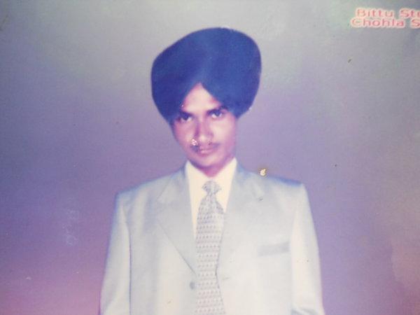 Photo of Jaspal Singh, victim of extrajudicial execution on December 13, 1991, in Chohla Sahib, by Punjab Police