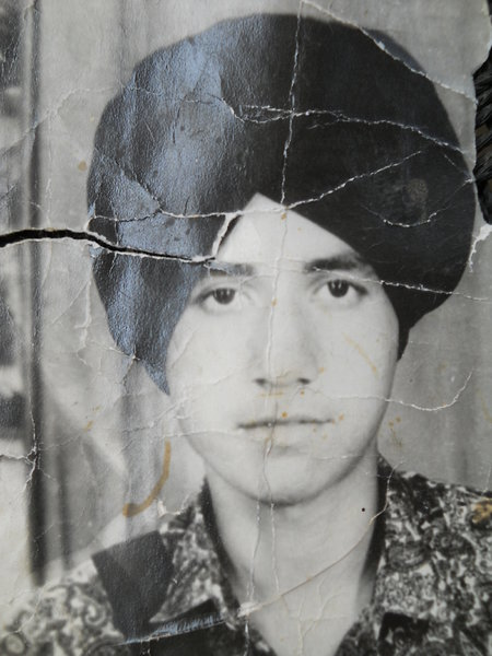 Photo of Balwinder Singh, victim of extrajudicial execution on December 13, 1991, in Chohla Sahib,  by Punjab Police; Central Reserve Police Force, in Chohla Sahib, by Punjab Police