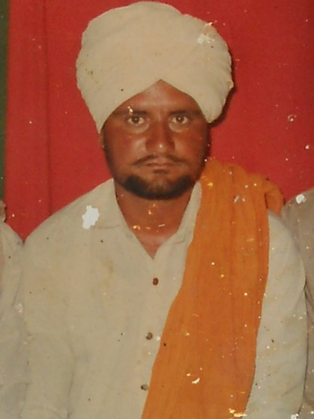 Photo of Kashmir Singh,  disappeared between December 25, 1988 and December 31,  1988 by Punjab Police
