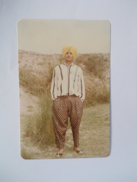 Photo of Joginder Singh, victim of extrajudicial execution on July 23, 1991Unknown type of security forces