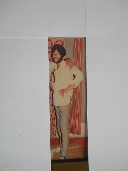 Photo of Amarjit Singh, victim of extrajudicial execution on February 17, 1991, in Sathiala 73rd Battalion CRPF Camp, by Central Reserve Police Force