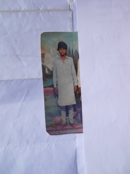 Photo of Butta Singh, victim of extrajudicial execution between July 15, 1991 and July 30,  1991, in Bhikhiwind, Patti, Valtoha, Gharyala,  by Punjab Police; Central Reserve Police ForcePunjab Police
