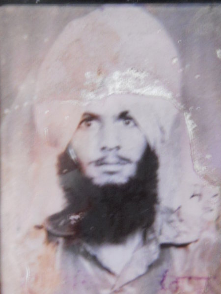 Photo of Janga Singh, victim of extrajudicial execution on April 20, 1993, in Sultanpur, by Punjab Police