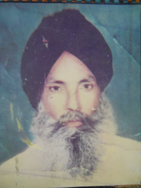 Photo of Pyara Singh, victim of extrajudicial execution between March 7, 1993 and March 25,  1993Punjab Police