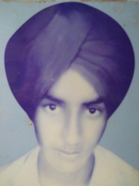 Photo of Balbir Singh, victim of extrajudicial execution on April 05, 1993, in Kang, Tarn Taran, by Punjab Police