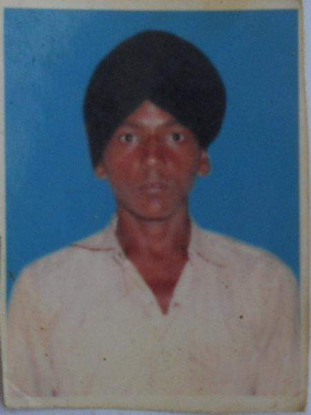 Photo of Rana Partap Singh, victim of extrajudicial execution on April 05, 1993, in Kang, Tarn Taran, by Punjab Police