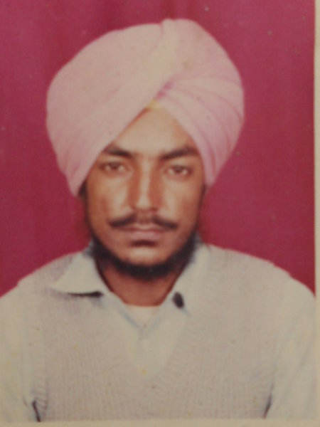 Photo of Prem Singh, victim of extrajudicial execution on March 31, 1990Punjab Police
