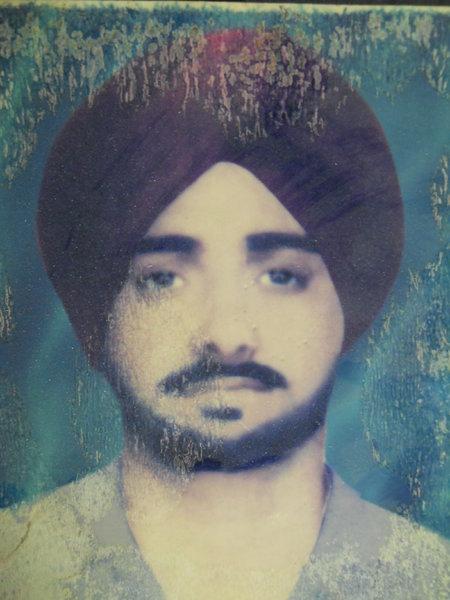 Photo of Surjit Singh, victim of extrajudicial execution on May 20, 1993Punjab Police