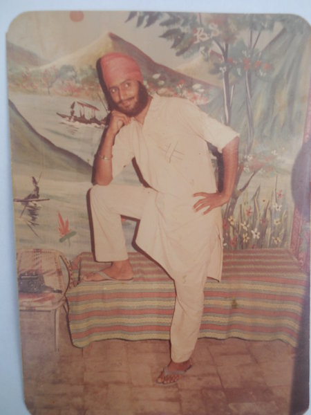 Photo of Manjit Singh, victim of extrajudicial execution on August 31, 1989, in Pandori Waraich,  by Central Reserve Police Force, in Pandori Waraich CRPF Camp, by Central Reserve Police Force