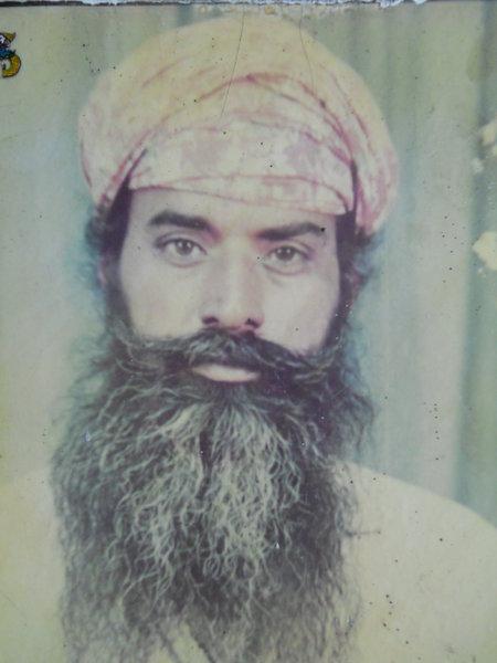 Photo of Sakattar Singh, victim of extrajudicial execution on April 11, 1993, in Butala, Beas, by Punjab Police
