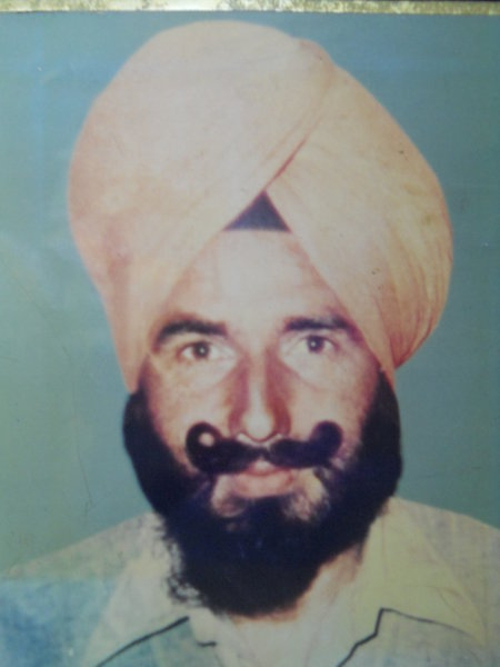 Photo of Harbans Singh,  disappeared between April 13, 1986 and April 25,  1986 by Punjab Police