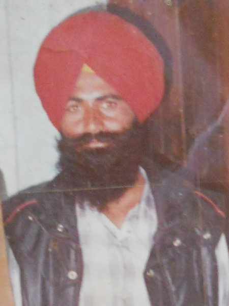 Photo of Balbir Singh, victim of extrajudicial execution on January 1, 1988, in Jandiala, by Punjab Police; Central Reserve Police Force