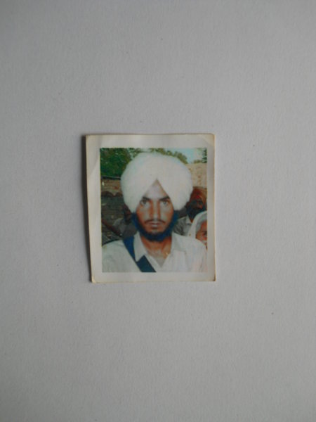 Photo of Iqbal Singh, victim of extrajudicial execution between April 11, 1988 and August 5,  1988, in Fatehabad,  by Central Reserve Police Force