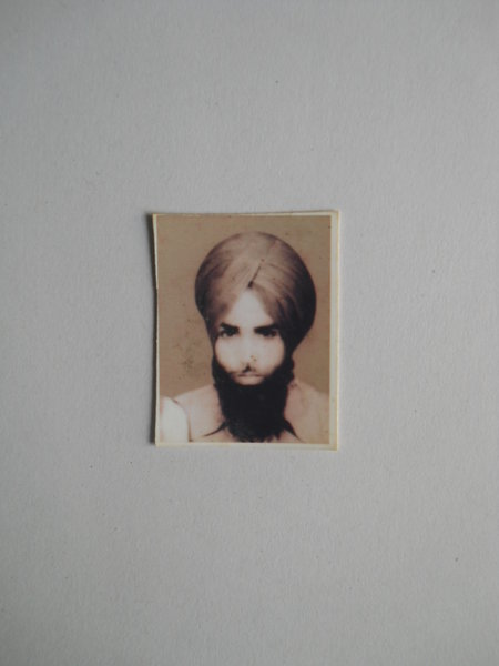 Photo of Lakhwinder Singh, victim of extrajudicial execution on May 16, 1993, in Chogawan, by Punjab Police