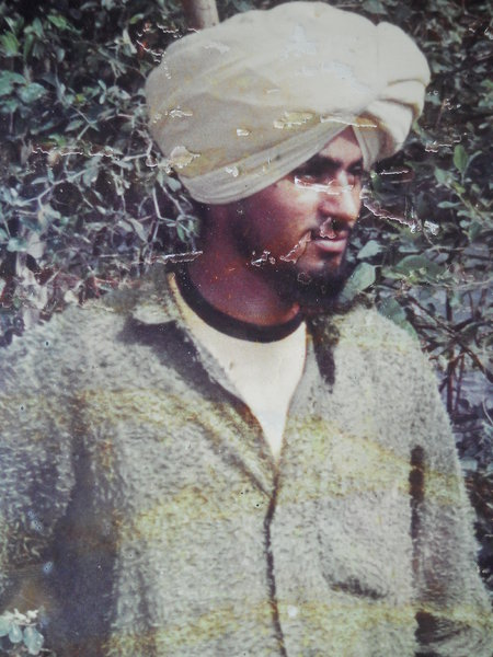 Photo of Jagdish Singh, victim of extrajudicial execution on July 15, 1991, in Mehta, by Punjab Police