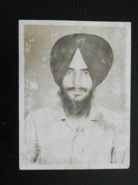 Photo of Randhir Singh, victim of extrajudicial execution between August 21, 1991 and August 24,  1991Punjab Police