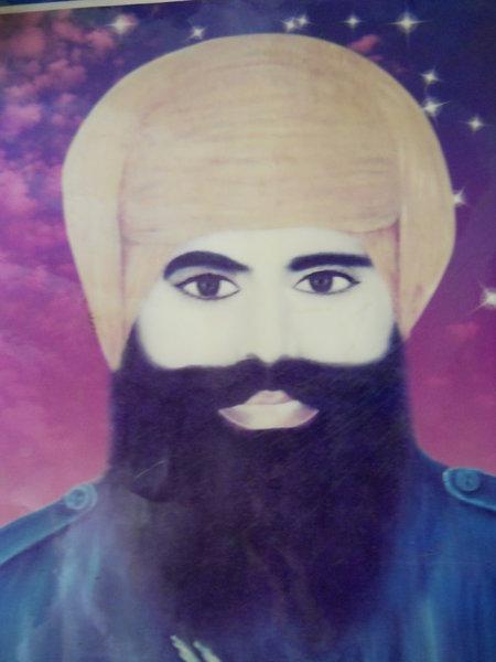 Photo of Baldev Singh, victim of extrajudicial execution on May 27, 1993, in Sarhali Kalan, Chohla Sahib, by Punjab Police