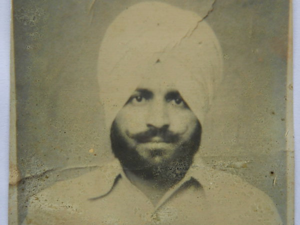 Photo of Rattan Singh, victim of extrajudicial execution on July 23, 1989, in Tarn Taran, by Punjab Police; Central Reserve Police Force