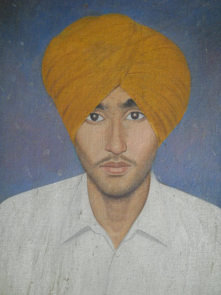 Photo of Jarnail Singh, victim of extrajudicial execution, date unknown, in Tarn Taran, by Punjab Police