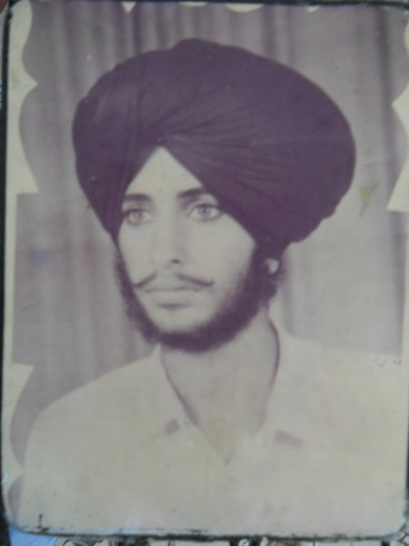 Photo of Mukhtar Singh, victim of extrajudicial execution on May 4, 1989, in Goindwal, by Punjab Police
