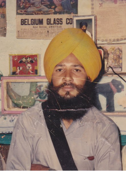 Photo of Bakshish Singh, victim of extrajudicial execution on June 10, 1990, in Firozpur CIA Staff, by Punjab Police