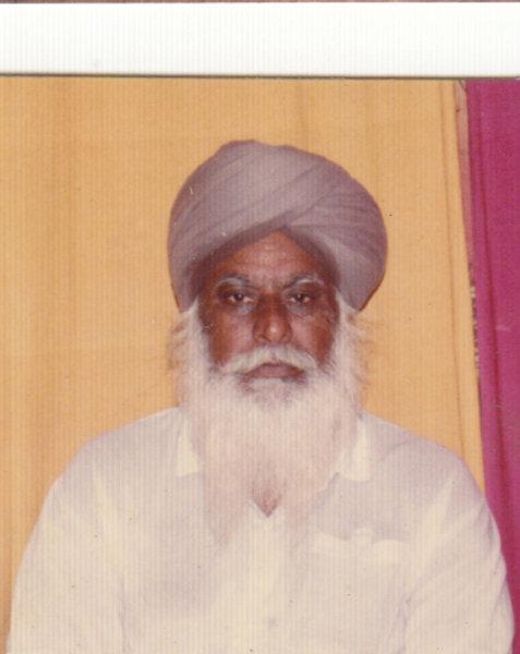 Photo of Ajit Singh, victim of extrajudicial execution between April 13, 1992 and May 15,  1992, in Tarn Taran,  by Criminal Investigation Agency, in Tarn Taran, by Punjab Police