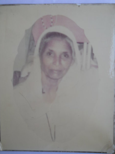Photo of Dat Kaur, victim of extrajudicial execution on December 3, 1992, in Mansa, by Punjab Police