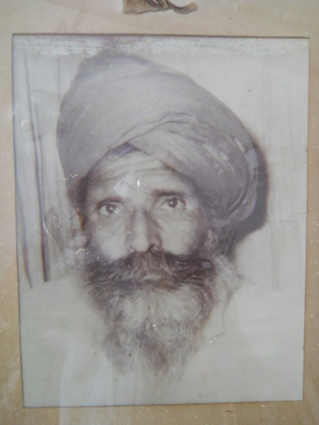 Photo of Gurdial Singh, victim of extrajudicial execution on October 10, 1992, in Naushehra Pannuan, by Punjab Police