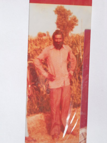 Photo of Salwinder Singh, victim of extrajudicial execution on December 5, 1992, in Man Bibrian, by Punjab Police