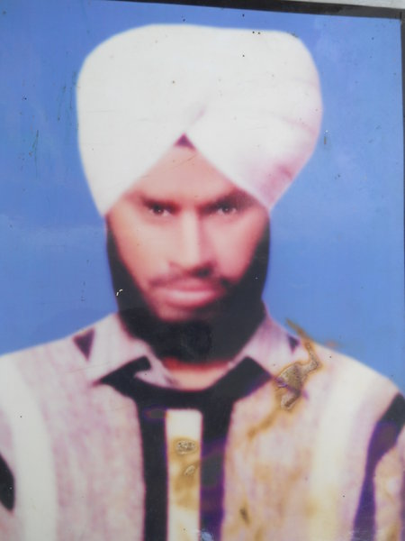 Photo of Gurmail Singh, victim of extrajudicial execution on October 25, 1991, in Goindwal, by Punjab Police