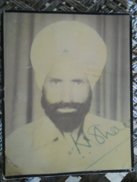 Photo of Kewal Singh, victim of extrajudicial execution between August 4, 1992 and August 6,  1992, in Sarhali Kalan, Tarn Taran,  by Punjab Police; Central Reserve Police Force; Criminal Investigation Agency, in Sarhali Kalan, Tarn Taran, by Punjab Police; Criminal Investigation Agency