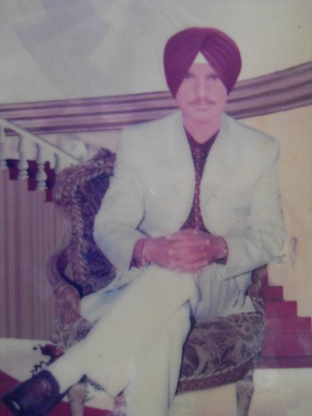 Photo of Nirmal Singh, victim of extrajudicial execution on July 30, 1991, in Jhabal Kalan, by Punjab Police