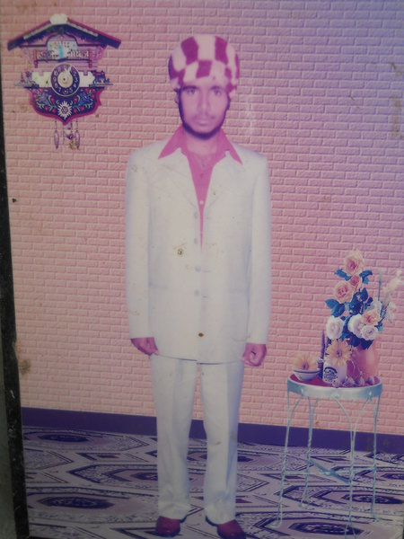 Photo of Desa Singh, victim of extrajudicial execution on July 18, 1990, in Jhabal Kalan, by Punjab Police