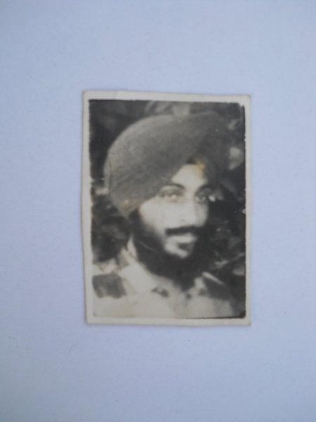 Photo of Swaran Singh, victim of extrajudicial execution on August 3, 1992, in Ramdas, by Punjab Police
