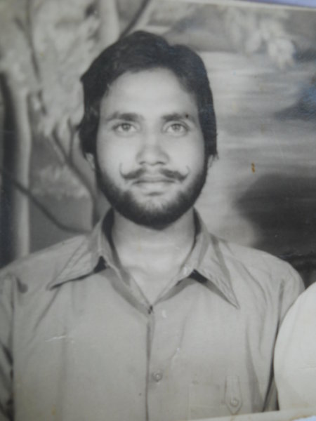 Photo of Sukhdev Singh, victim of extrajudicial execution on October 16, 1991, in Batala, by Punjab Police
