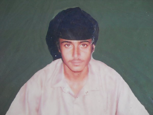 Photo of Bachittar Singh, victim of extrajudicial execution on November 20, 1991, in Chheharta Sahib,  by Punjab Police; Central Reserve Police Force, in Chheharta Sahib, by Punjab Police; Central Reserve Police Force