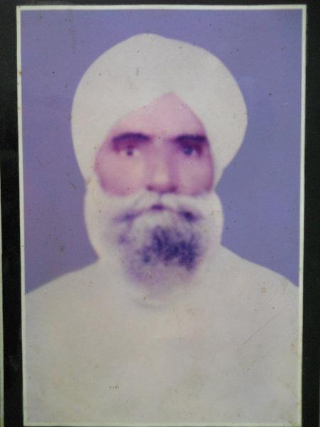 Photo of Sadhu Singh,  disappeared on October 29, 1991, in Dera Baba Nanak, Jalandhar,  by Punjab Police