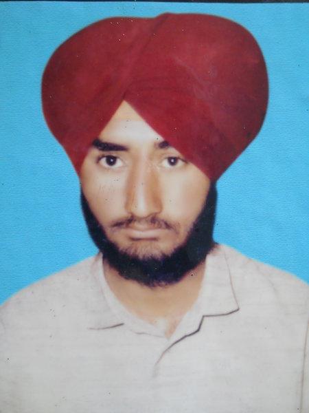Photo of Amanjeet Singh,  disappeared on October 29, 1991, in Dera Baba Nanak, Jalandhar,  by Punjab Police